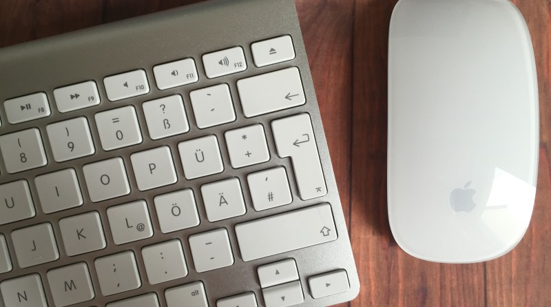 Apple Keyboard und Magic Mouse