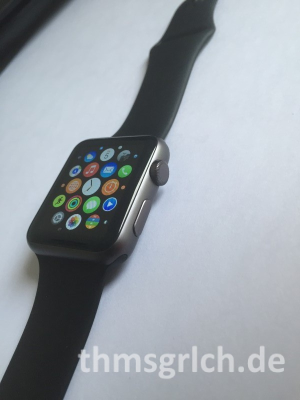 AppleWatch Sport Space Gray