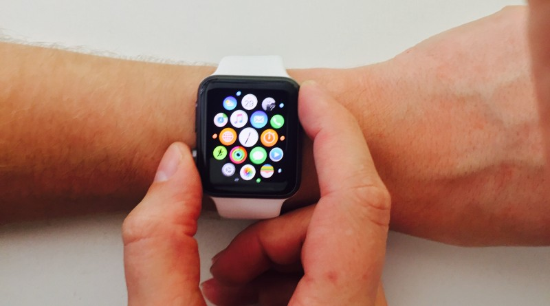 Apple Watch Sport falschherum